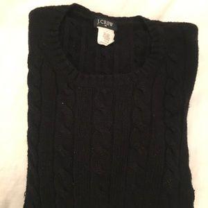 Jcrew cableknit crewneck sweater
